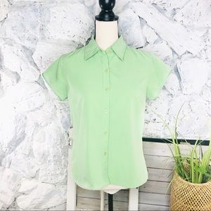 The North Face Green Outdoor Hike Camp Shirt M